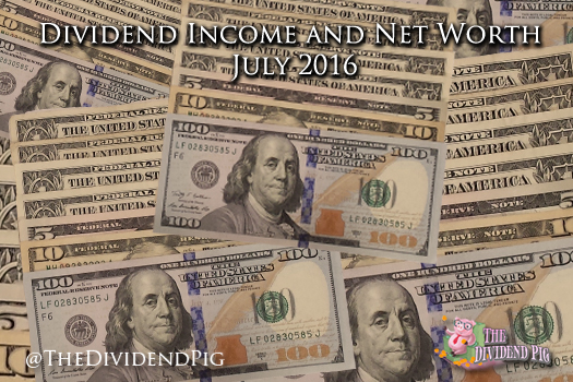 Dividend-Income-and-Net-Worth-July-2016