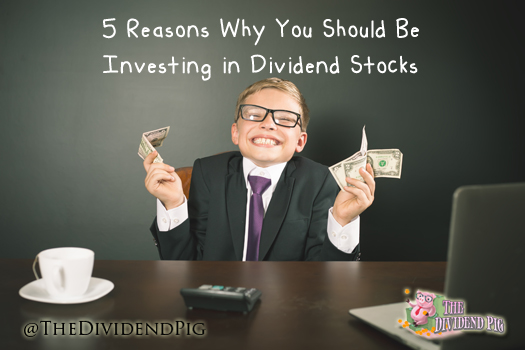 Why Investing In Dividend Stocks
