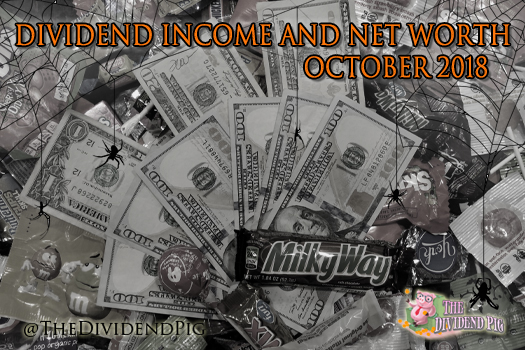 Scary money - October Dividend Income